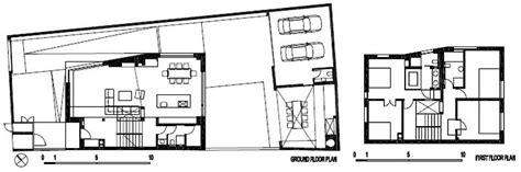 irregular lot house plans modern family house boasting an irregular geometric design