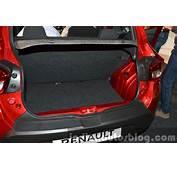 Renault Kwid Boot India Unveiling  Indian Autos Blog
