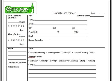 garden service business plan template garden services sle