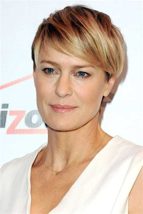 robin wright just before she cut her hair beauty inspiration know how on pinterest benefit high