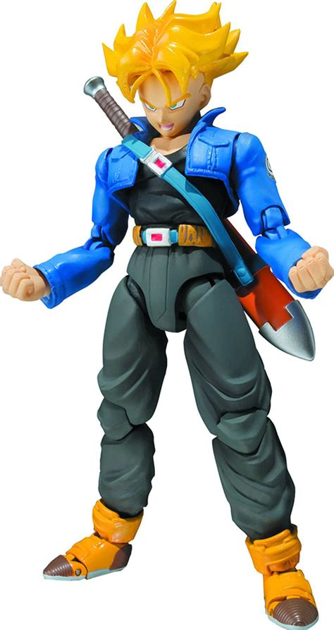 s h figuarts figure saiyan trunks z figure s h