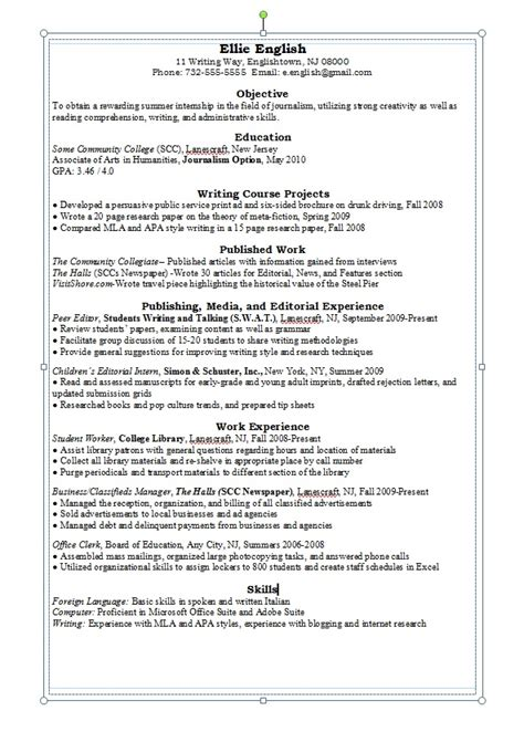 resume writing career connoisseur