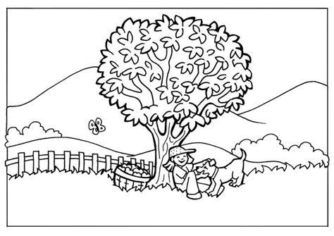 imagenes faciles para dibujar de la naturaleza dibujo para colorear naturaleza img 7106