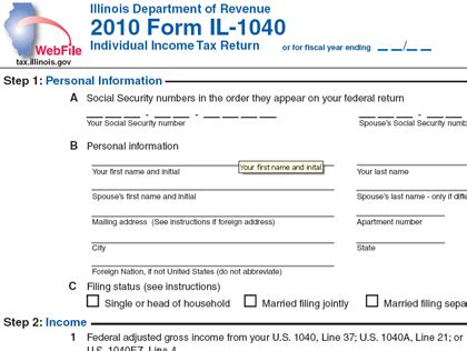 Where Is My Illinois Tax Refund » Home Design 2017