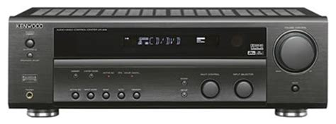 kenwood vr 906 6 1 channel home theater receiver black