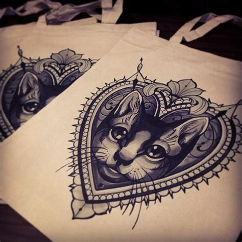 tattoo cat in frame royal cat tattoo designs by agent0tex117 on deviantart