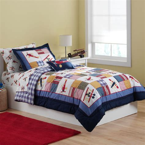 cannon airplane comforter set home bed bath