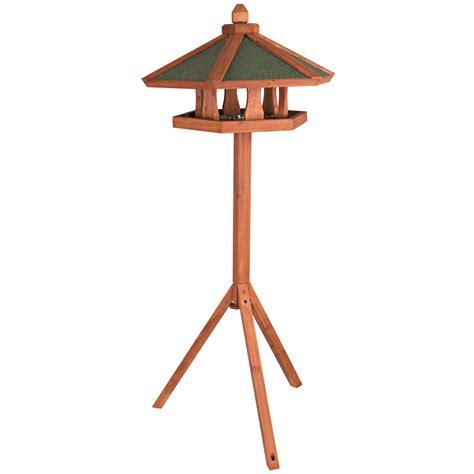 trixie wooden bird feeder gazebo with stand bird feeders