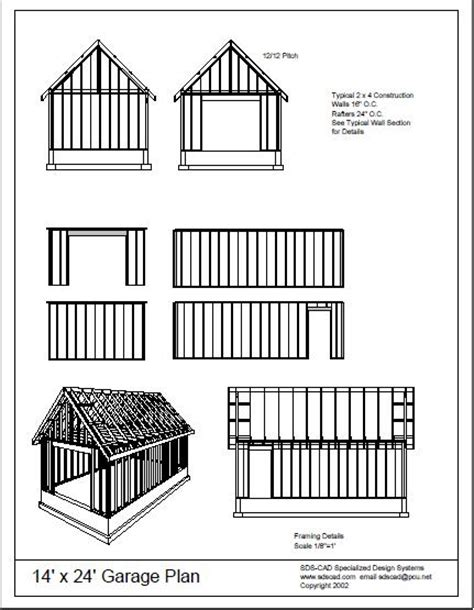 Building Plans Garage Getting The Right 12 215 16 Shed Plans | building plans garage getting the best free home