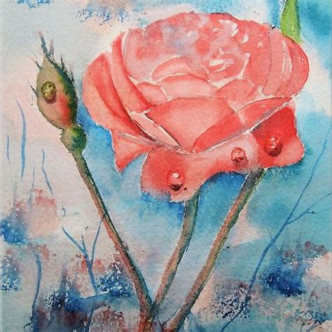 12 best images about flower paintings on poppies and flower