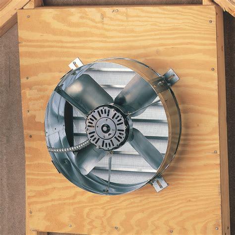 attic power vent fan 1650 cfm lifetime warranty gable mount power attic vent