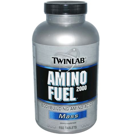 Murah Twinlab Amino Fuel Tab 2000mg 50 Tabs Protein Asam Amino amino fuel tabs 2000 mg
