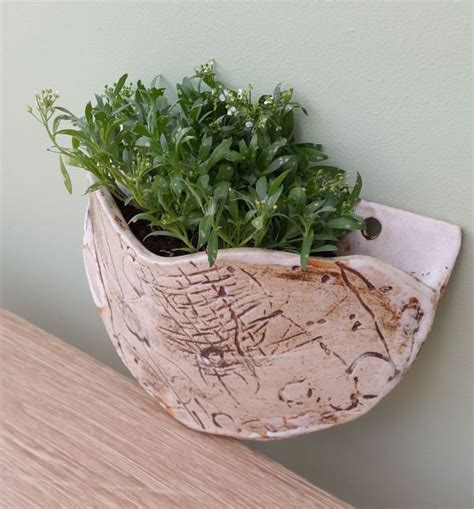 ceramic wall planter ceramic wall planter hupfield ceramics