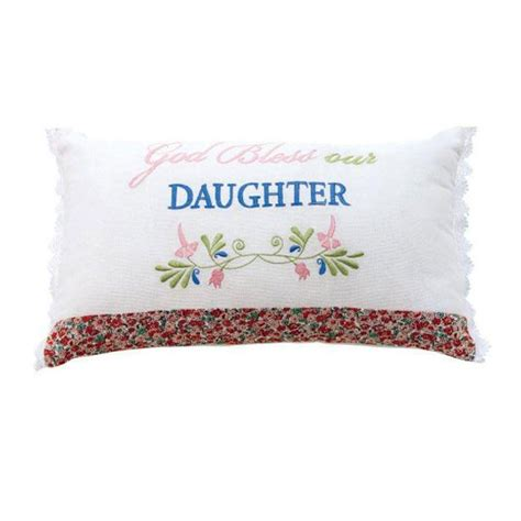 home decorators pillows home decorators collection god bless our daughter 20 in w