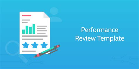 hr performance review template hr templates the pack for company success