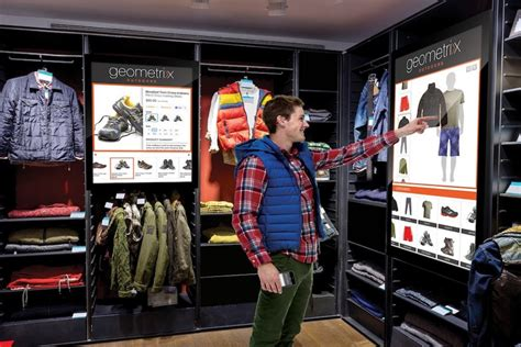 digital stores digital interfaces make in store shopping more personalized