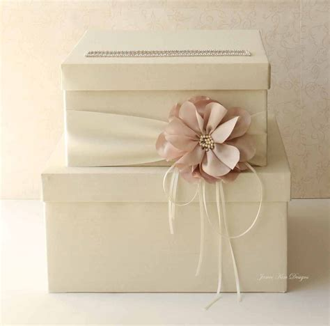 Wedding card box   Blue and Orange Wedding   Pinterest