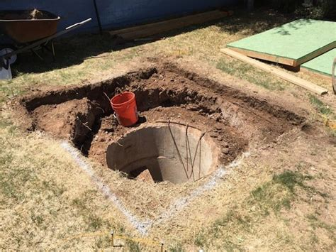 backyard bunker plans after looking at the plans for his house he discovered an