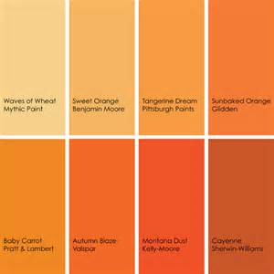 shades or orange the color orange works best in small amounts matt and shari