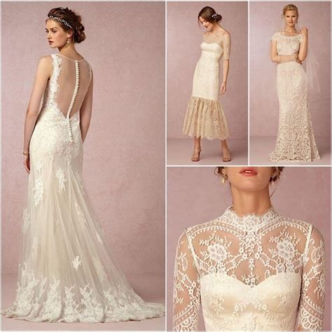 Wedding Dresses Vintage Look by Vintage Lace Wedding Dresses From Bhldn Modwedding