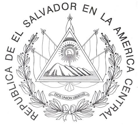 imagenes simbolos nacionales de centroamerica free coloring pages of escudo de el salvador