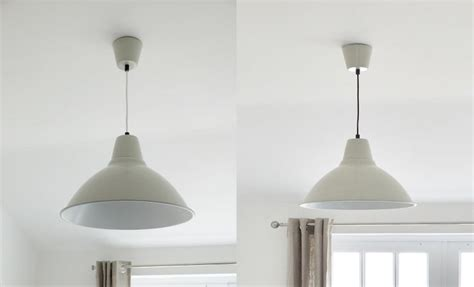 Used Pendant Lighting Ikea Foto Pendant Light Pvc Primer Spray Paint Used On Flex Kitchen Pendants
