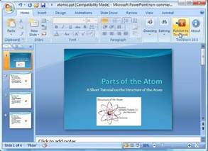 Free Microsoft Powerpoint 2007 Vista   todaymatt.over blog.com