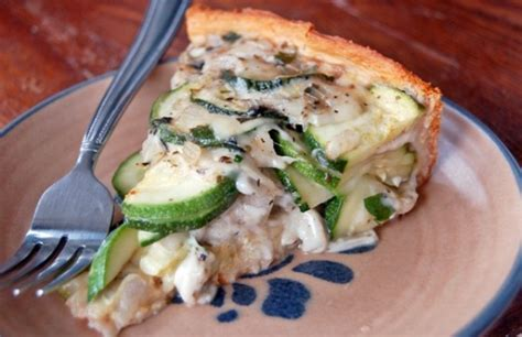 Todays Special Zucchini And Taleggio Tart by Italian Zucchini Pie New Today