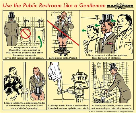 public bathroom rules public restroom etiquette for men etiquette and stuffing