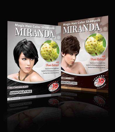 Semir Rambut Miranda Hair Color 10 merk sho penghitam rambut yang paling bagus