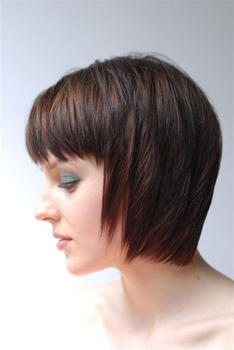 edgy bobs with bangs angled edgy bobs hairstyle gallery