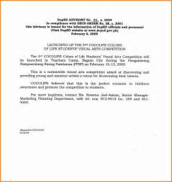 Agreement Letter In Tagalog 4 Application Letter Tagalog Musicre Sumed