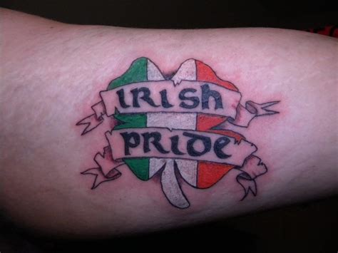 irish pride tattoos pride designs creativefan
