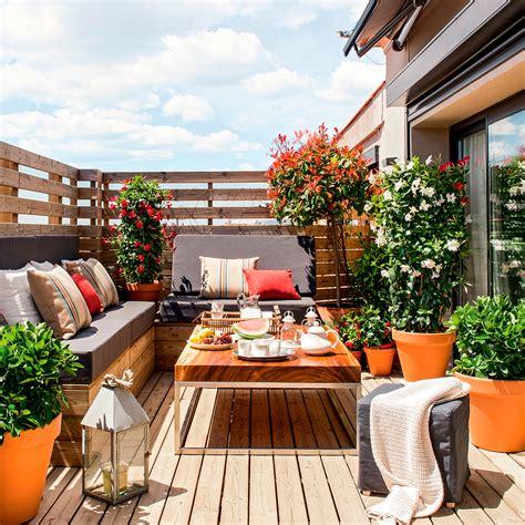 piante da terrazza 10 terrazas peque 241 as pero bien aprovechadas