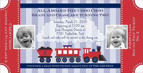 40th birthday ideas train birthday invitation templates free