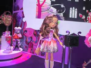 New doll they had displayed will be our first ever after high doll