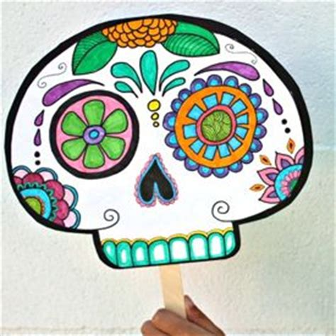 printable masks for day of the dead pinterest the world s catalog of ideas