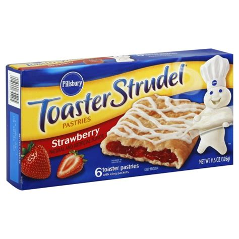 Pillsbury Toaster Strudel pillsbury toaster strudel strawberry 6 ct