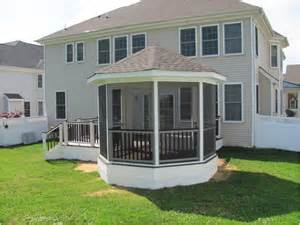 Pictures Of Screened In Decks Screened Deck Designs And Screened Porch Designs Can