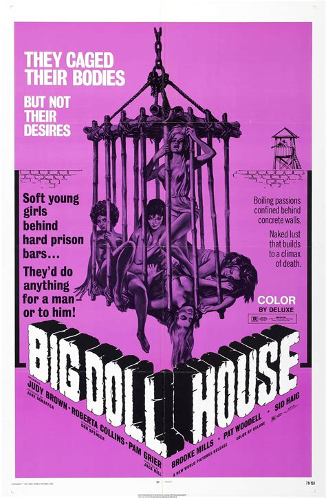 the biggest doll house poster for the big doll house aka women s penitentiary 1971 usa philippines
