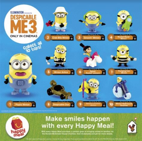 Gru S Hydrocycle Despicable Me 3 Minion Mcd Happy Meal philippines presenting despicable me 3