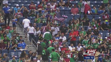 mexico soccer fan gear us defeats mexico 2 0 before sellout crowd at alamodome