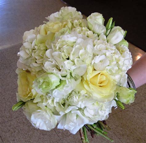 wedding flowers july wedding with hydrangea and garden roses boston s