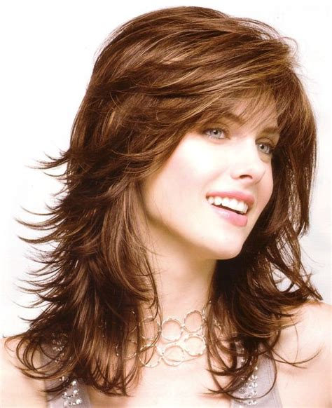 feathered hair cuts mediem hair collection of feather cut hair styles for short medium