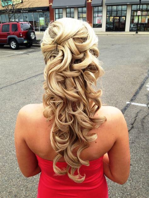 best 25 half hairstyle ideas on 20 half up half curly hairstyles ideas