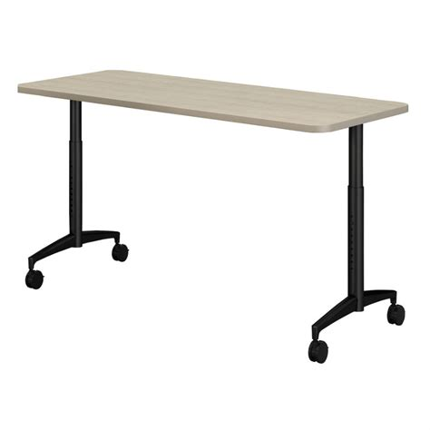 18 x 60 table mayline 18 quot x 60 quot cohere adjustable height table