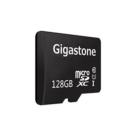 Memory Adapter Dslr gigastone gigastone 128gb micro sd card u1 memory sd card adapter microsd for samsung galaxy