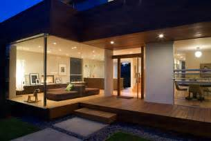 Modern House Interior by House Design To Get Full Advantage Of South Climate With