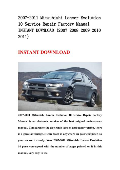 motor auto repair manual 2007 mitsubishi lancer free book repair manuals service manual car owners manuals free downloads 2011 mitsubishi lancer head up display