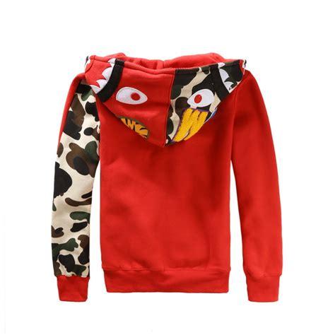 Sweater Jaket A Bathing Bape neu japan bape a bathing ape jacket shark zip